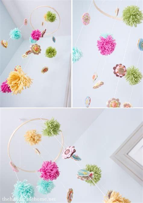Handmade Nursery Mobiles - handmade nursery ideas a diy mobile
