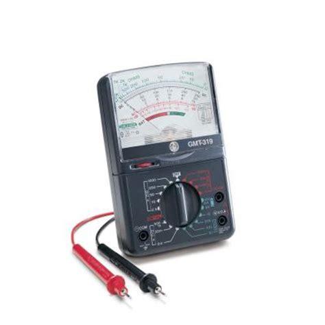 gardner bender 19 range analog meter