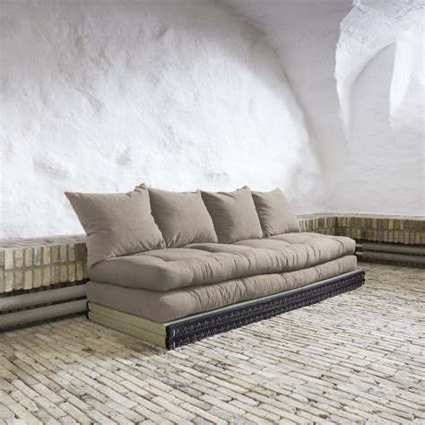 divano letto futon divano letto chico sofa karup con tatami e futon