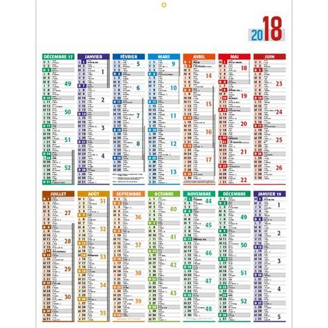 Calendrier 2018 Annuel Calendrier Bancaire Personnalis 233 Rigide Avec D 233 Coration