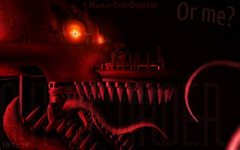 Try Not To Nightmares And Simon Made Of Wax by Nightmare Foxy S Teaser Sfm Remake By Kana The Drifter On