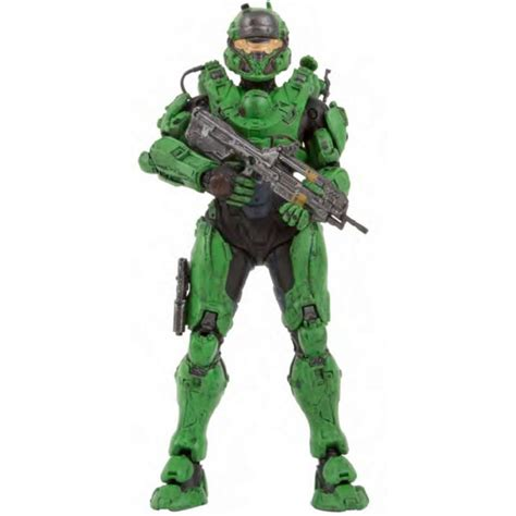 figure halo 5 halo 5 guardians series 1 spartan number 5 variant 6 inch