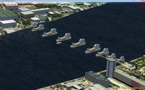thames barrier moving the thames barrier p3d scenery for fsx