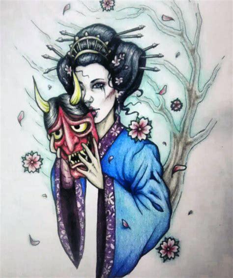 geisha tattoo designs 2014 geisha tattoo design by myhedhertz on deviantart