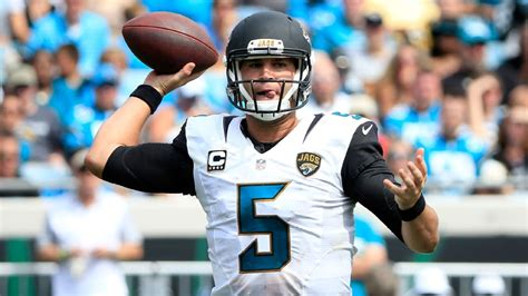 Jacksonville Records Jacksonville Jaguars Qb Bortles Nears Single Season
