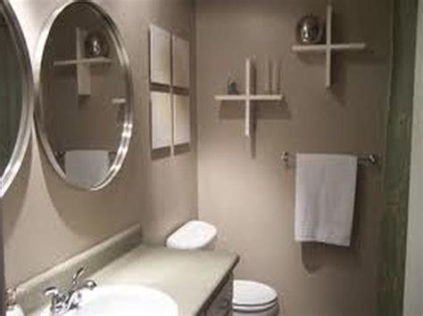 painting a small bathroom ideas how to choose bathroom paint colors 03 dark brown hairs