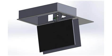 Support Tv Motorisé Plafond by Maior Flip100 Supports Tv Motoris 233 S Sur Easylounge