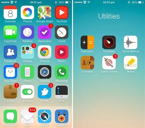 best whatsapp themes cydia five gorgeous themes for ios 7 that replace its icons