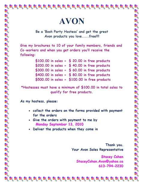 avon templates free avon flyers templates pictures to pin on pinsdaddy