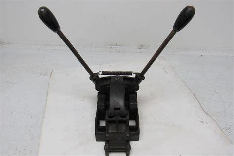 clipper belt lacer     belt lacing tool