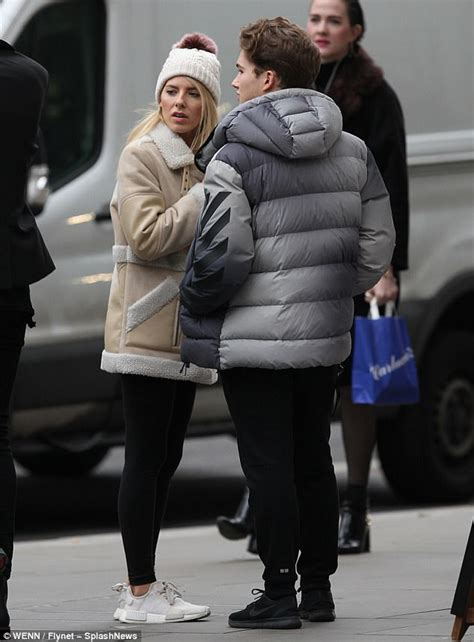 Heels Bunga Gf strictly s mollie king and aj pritchard enjoy cosy lunch daily mail
