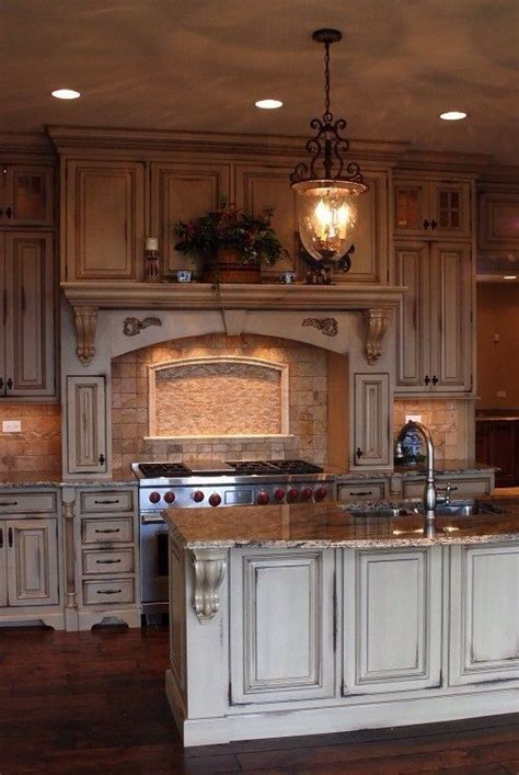 tuscan kitchen cabinets rustic tuscan kitchen around the house pinterest