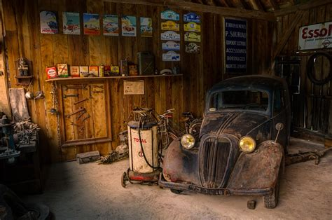 free photo garage shop car fix hdr light free