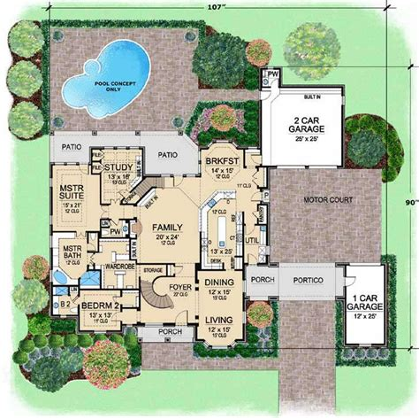country style house plans 5518 square foot home