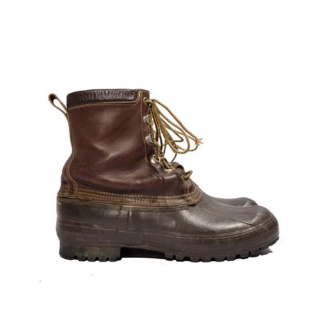 12 vintage maine boot ll bean duck boot by