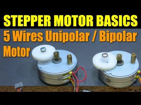 stepper motor basics how to run a stepper motor without a driver funnydog tv