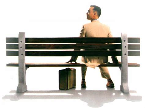 forrest gump bench underrated or misinterpreted forrest gump the scariest