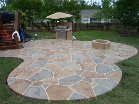 stone backyard patio interior design patio ideas stone patio designs home