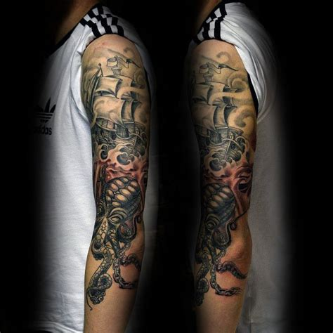 cool tattoo inspiration 15 amazing kraken tattoo designs