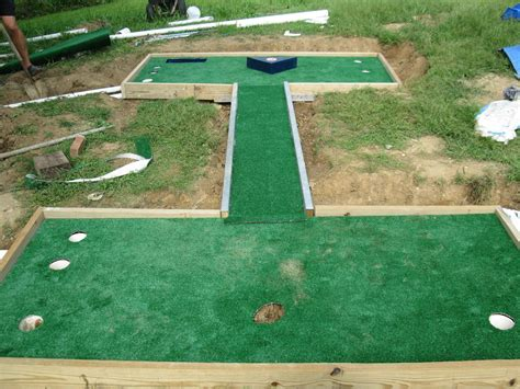 miniature golf putt putt course putt putt yards and