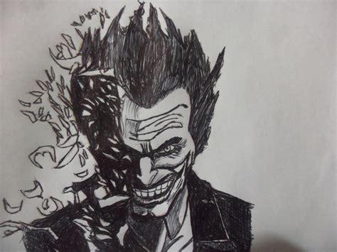 imagenes del joker batman mi dibujo del joker con lapicera bic negra arte taringa