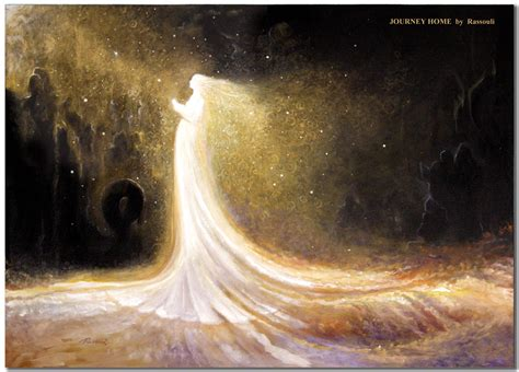 A Journey Home painting of a mystic journey by rassouli offered by avatar