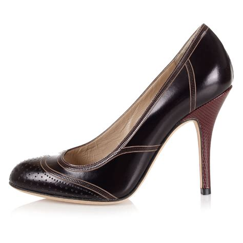fendi shoes fendi leather shoes spence outlet