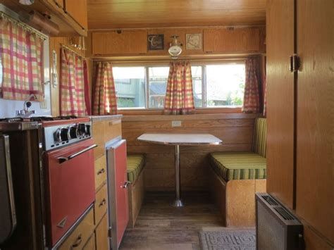 Winnebago Via Floor Plans vintage 1967 red dale travel trailer 14 box sharp