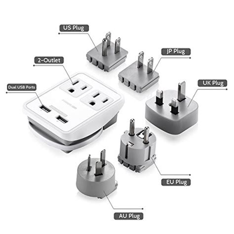 Does Usb Detox Work by Poweradd Poweradd Ul Listed 2 Outlet International Travel