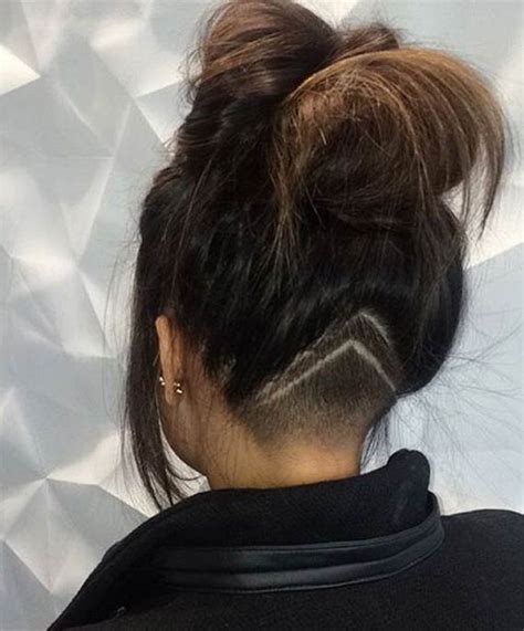 back head haircuts for women undercut hairstyle back of head www imgkid com the