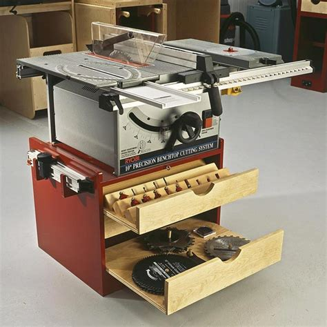 Mobile Tablesaw Base Woodworking Plan From Wood Magazine