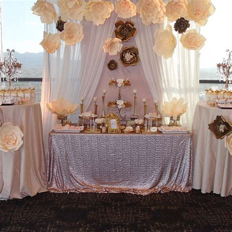 quincea 241 era party ideas dessert table sweet 16 and