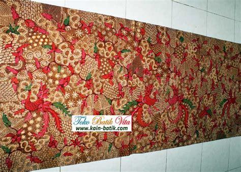 Bahan Batik Tulis Sekar Bunga 2 Batik Madura Sekar Jagad Kbm 5765 Kain Batik Murah