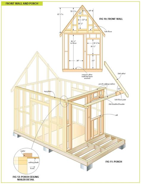 shed floor plans free free wood cabin plans for the home pinterest wood