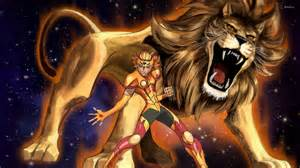 Leo mycenae saint seiya wallpaper anime wallpapers 28467