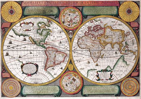 antique maps antique maps of the worldmap of the worldjean boisseauc