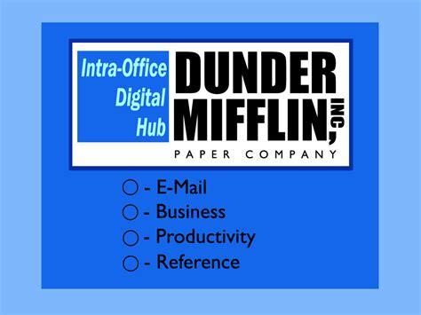 Dunder Mifflin the office dunder mifflin taringa