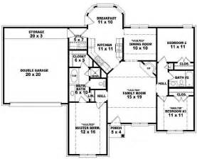 Open Floor Plan House Plans One Story 1 Story 4 Bedroom Open Floor Plans Bedroom Home Plans