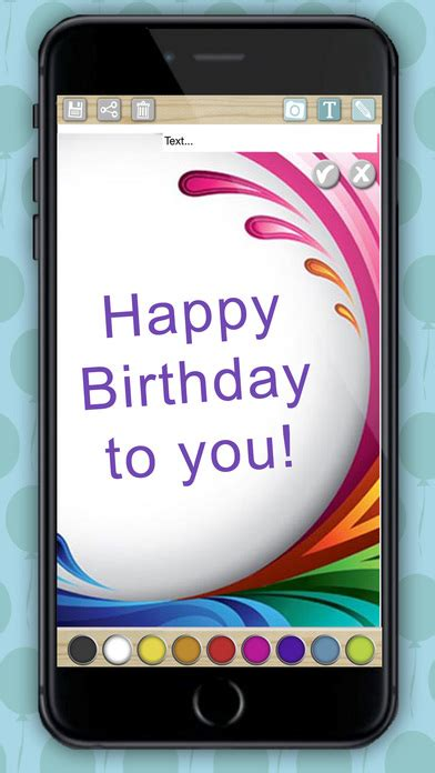 as we say happy birthday to the iphone don t forget to protect your eyes from the blue light cr 233 ation carte d anniversaire cr 233 er votre carte d anniversaire personnalis 233 e dans l app store
