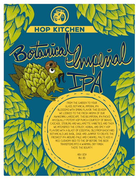 Hop Kitchen by New Belgium Botanical Imperial Ipa Named In Hop Kitchen Series Beerpulse