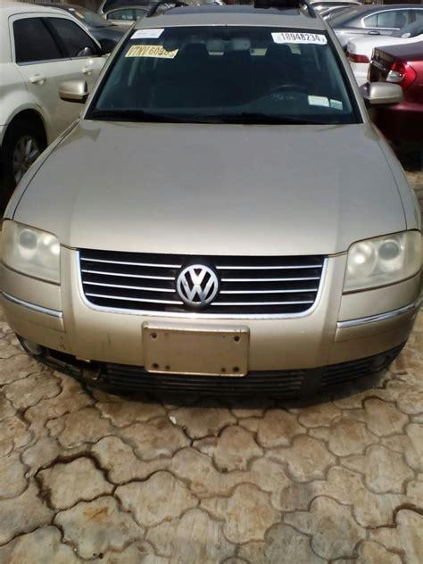 volkswagen wagon 2001 imported volkswagen wagon 2001 autos nigeria
