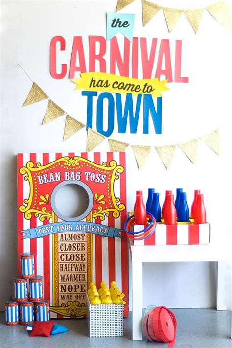 diy carnival themed decorations diy carnival ideas ideas