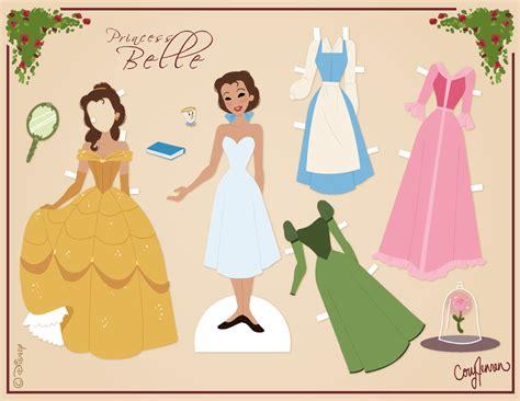 Paper Doll For - delightfully random princess paper dolls