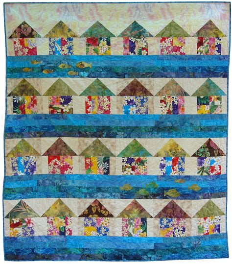 quilt pattern beach house quilt inspiration free pattern day house quilts