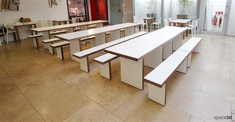 canteen benches canteen tables jb waldo canteen tables white