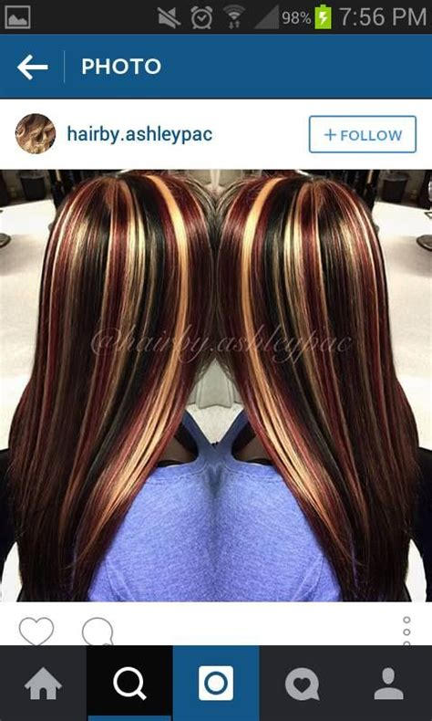 red hair all over 1000 ideas about chunky highlights on pinterest
