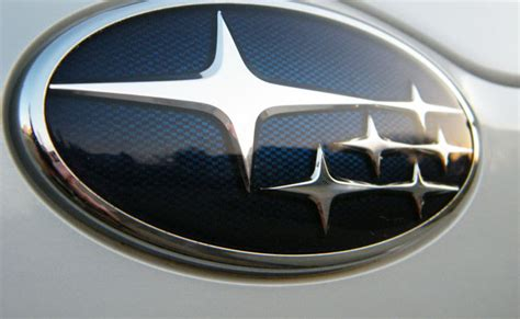 subaru logo constellation the stories car brand names david airey