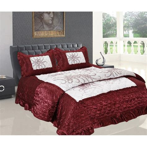 Wedding Bed Sheets by Buy Banarsi Das Wedding Set Of 1 Bedsheet 1