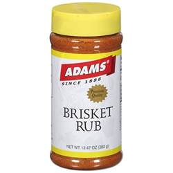 adams brisket rub seasoning 382g walmart com