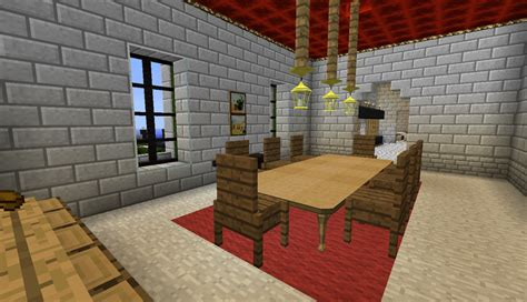 How To Make Dining Room In Minecraft Minecraft House Dining Room By The Uncertain On Deviantart